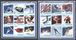 P074 !!! IMPERFORATE 2001 GUINE-BISSAU OLYMPIC GAMES SALT LAKE CITY 2002 2SH MNH - Winter 2002: Salt Lake City