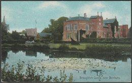 Broughton Castle Near Banbury, Oxfordshire, 1909 - Shurey's Postcard - England