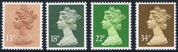 Grande-Bretagne - Elizabeth II (année 1988) 1297/1300 ** - 1952-.... (Elizabeth II)