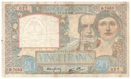 Billets >  France > 20 Francs >   1941 - 1871-1952 Antichi Franchi Circolanti Nel XX Secolo