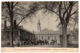 71 : Epinac-les-Mines : La Garenne : Chapelle Et Ecoles - Autres Communes