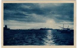 TRAPANI - TRAMONTO - 1926 - Vedi Retro - Formato Piccolo - Trapani