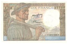 Billets >  France > 10 Francs >   1949  Neuf - 1871-1952 Anciens Francs Circulés Au XXème
