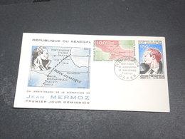 SÉNÉGAL - Enveloppe FDC En 1966  - Mermoz  - L 20325 - Sénégal (1960-...)