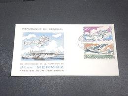 SÉNÉGAL - Enveloppe FDC En 1966  - Mermoz  - L 20326 - Sénégal (1960-...)