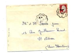 Devant De Lettre Cachet Convoyeur Chalons à Macon - Marcophilie (Lettres)