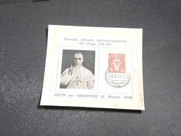 VATICAN - Document Philatélique De 1939 - L 20327 - Covers & Documents
