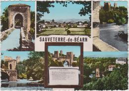 Pyrénées  Atlantique :  SAUVETERRE  De   BEARN  :  Souvenir - Sauveterre De Bearn