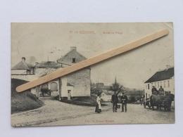GENAPPE- BOUSVALNº 19»ENTRÉE DU VILLAGE «Animée,attelage(1912)E.Miesse-Wautiè (M. Marcovici) - Genappe