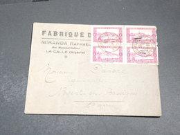 ALGÉRIE - Enveloppe Commerciale De La Calle En 1935 Pour La France - L 20329 - Algeria (1924-1962)