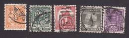 Mexico, Scott #729-733, Used, Scenes And Culture Of Mexico, Issued 1937 - Mexico