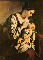 JEUNE FEMME Et BÉBÉ : ALLAITEMENT Au SEIN / BREAST FEEDING : YOUNG MOTHER By ORAZIO LOMI GENTILESCHI ~ 1970 (ab844) - Femmes