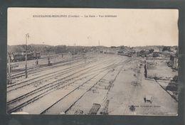 Hrsc - CPA - 19 - Eygurande-Merlines - La Gare - Vue Intérieure - Eygurande
