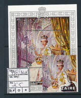 CONGO KINSHASA ZAIRE 1978 ISSUE COB 939 + BL 28 MNH - Zaïre