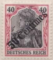 Deutsch   Turkei       .    Michel  .    51      .   *   .    Ungebraucht Mit Falz .   /   .   Mint-hinged - Deutsche Post In Der Türkei
