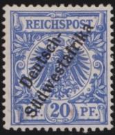 Deutsch   SudWest Afrika     .    Michel  .   8       .   *   .    Ungebraucht Mit Falz .   /   .   Mint-hinged - Colony: German South West Africa