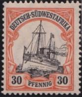 Deutsch   SudWest Afrika     .    Michel  .  28     .   *   .    Ungebraucht Mit Falz .   /   .   Mint-hinged - Kolonie: Deutsch-Südwestafrika