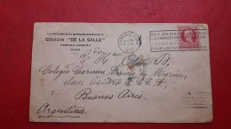 La Cuba Enveloppe Circulé Avec Publicité De Havanais 1935 - Salud
