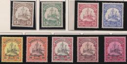 Deutsch  Marshall Inseln    .    Michel  .    13/21       .     *   .    Ungebraucht Mit Falz .   /   .   Mint-hinged - Colony: Marshall Islands