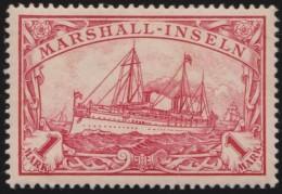 Deutsch  Marshall Inseln    .    Michel  .    22     .     *   .    Ungebraucht Mit Falz .   /   .   Mint-hinged - Colony: Marshall Islands