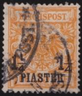 Deutsch   Turkei      .    Michel  .   9    .       O       .         Gebraucht - Deutsche Post In Der Türkei