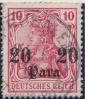 Deutsch   Turkei      .    Michel  .   25         .       O       .         Gebraucht - Deutsche Post In Der Türkei