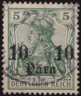 Deutsch   Turkei      .    Michel     .     24         .       O       .         Gebraucht - Deutsche Post In Der Türkei