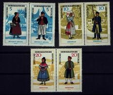 DDR 1964 - Trachten - MiNr 1074-1079 - Kostüme