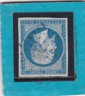 N° 14 A     PC  3993   LIGUGE  /  VIENNE      BUREAU SUPPLEMENTAIRE    LOT 14112    INDICE 10  COTE 60€ + VARIETE - 1853-1860 Napoleon III