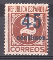 Espagne - 1938 - N° 606 (surchargé) - Neuf * - 1931-Heute: 2. Rep. - ... Juan Carlos I