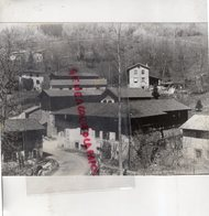 63- LAGAT -BAS LIVRADOIS- VILLAGE PAPETIER- PAPETERIE PAPIER - RARE PHOTO ORIGINALE - Métiers