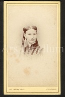 Photo-carte De Visite / CDV / Young Woman / Jeune Femme / Photographer Paul Stabler / Sunderland / 2 Scans - Oud (voor 1900)