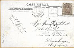 _Op 545:N°136: 6 ANTWERPEN 6 ANVERS VIIe Olympiade ANTWERPEN 19-VII 20 - Ete 1920: Anvers