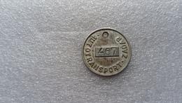 Yugoslavia Croatia Autotransport Zadar  Token (Y.76) - Jetons En Medailles