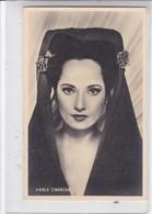MERLE OBERON. S & V H A. CIRCA 1940's- BLEUP - Artiesten