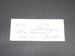 FRANCE - Lettre De Paris Pour Paris En 1854 - L 20365 - 1849-1876: Période Classique