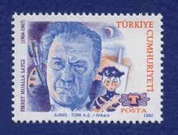 TURQUIE FIKRET MUALLA SAYGI Peintre Turc. Neuf**. 1992 - Moderne