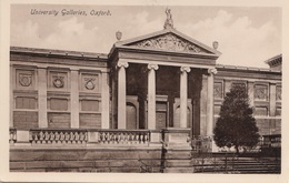 OXFORD - University Galleries, Gel.1930 - Oxford