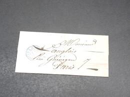 FRANCE - Lettre De Paris Pour Paris - L 20366 - 1849-1876: Période Classique