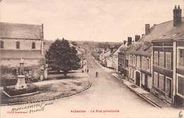 AUBENTON - La Rue Principale - Autres Communes