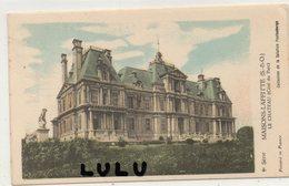 DEPT 78 : Carte Historique ; Saint Germain En Laye Le Château Coté Nord Est  : Coll. De La Solution Pautauberge - St. Germain En Laye (Château)