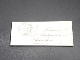 FRANCE - Lettre De Neufchatel En Bray Pour Aumale En 1835  - L 20367 - Marcophilie (Lettres)
