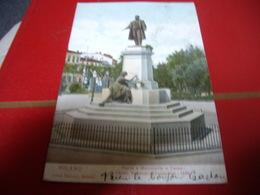 ITALIE  MILANO Piazza E Monumento CAVOUR  1906 - Milano (Milan)