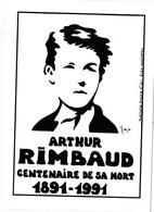 CPSM Hommage à Arthur RIMBAUD Poète Tirage Limité Illustrateur LARDIE - Lardie