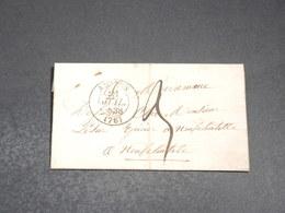 FRANCE - Lettre De Amiens Pour Neufchatel En Bray  En 1838  - L 20368 - Marcophilie (Lettres)