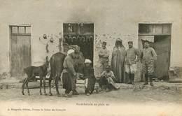 Maroc - Morocco - Métiers - Maréchal Ferrant -Animaux - Chevaux - Poulains - Militaria - Militaires - Maréchalerie -état - Maroc