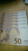 50 Euro Draghi 2017 R015H5 100 % UNC - EURO