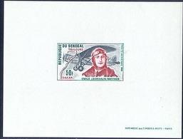 Senegal PA 80 Emile Lecrivain Disappearance, Epreuve De Luxe, Neuf** Sans Charniere, Scott C75 Deluxe Proof - Senegal (1960-...)