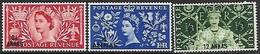Oman  1953  Sc#52-4   Coronations   MLH*  2016 Scott Value $9.50 - Oman