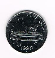 &  INDIA  50  PAISE   1990 - India